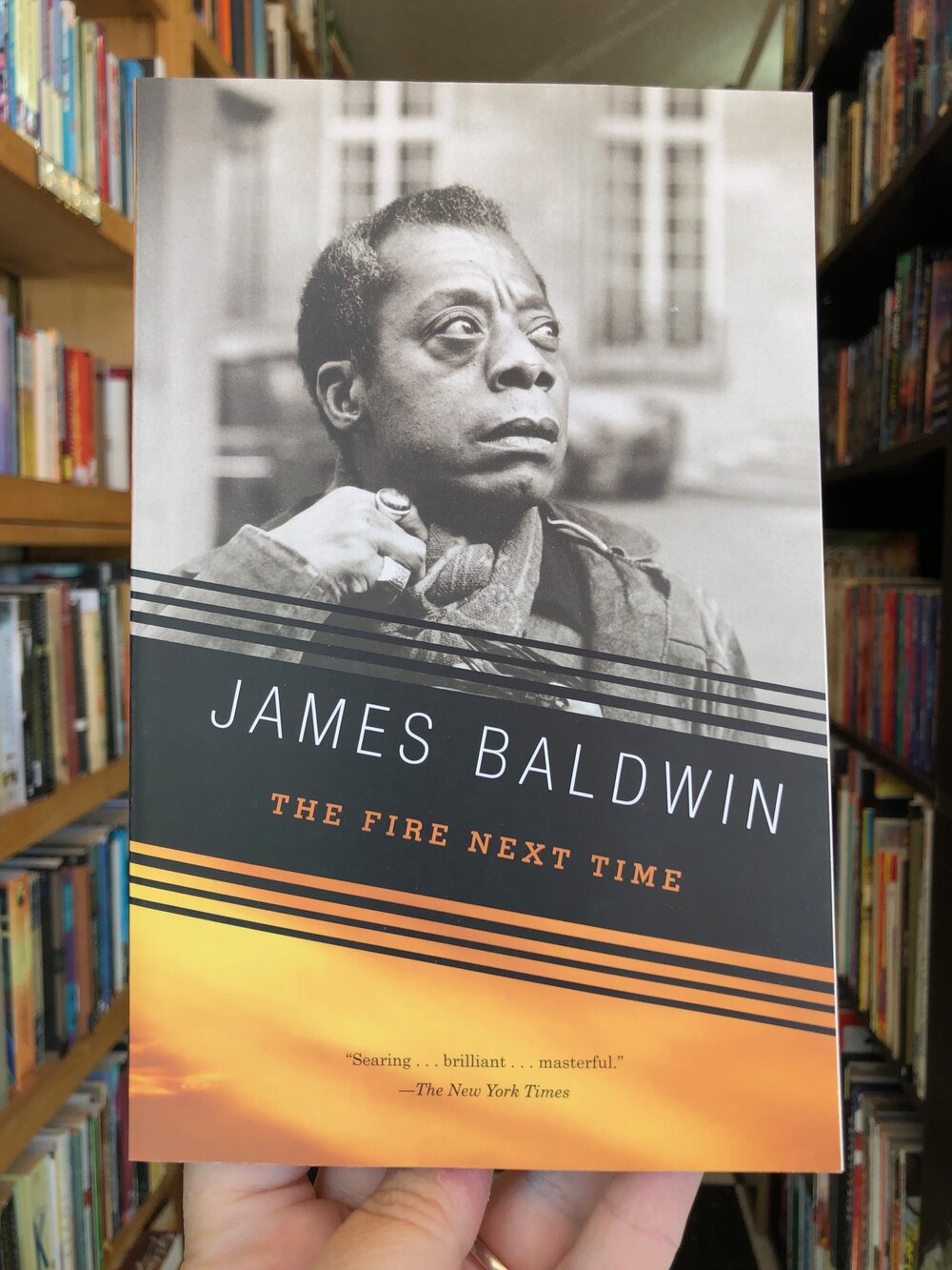 The Fire Next Time by James Baldwin — Yellow Dog Bookshop
